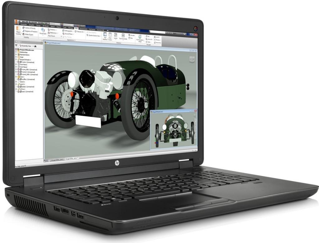 HP ZBook 17 M4R68EA
