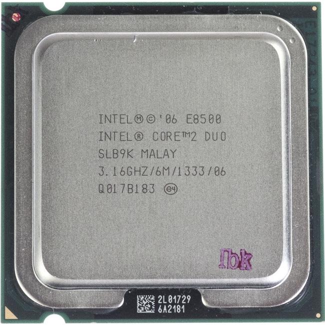 Intel Core2 Duo E8500