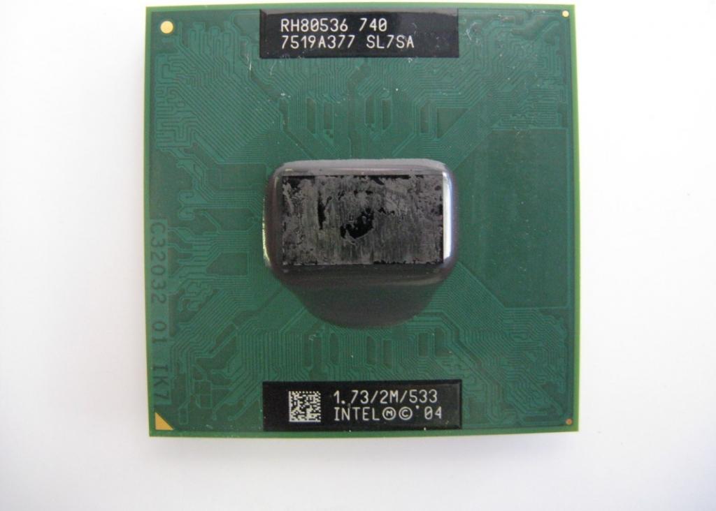 Intel Pentium M 740