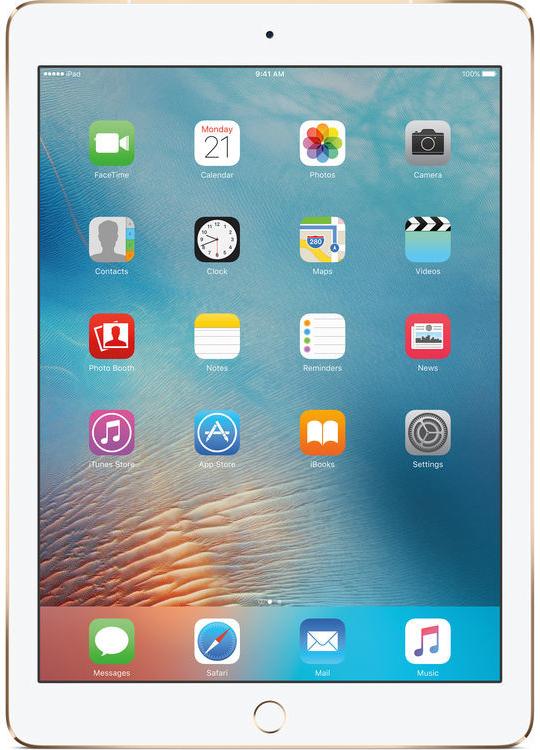 Apple iPad (2017) Wi-Fi 128GB Gold MPGW2FD/A