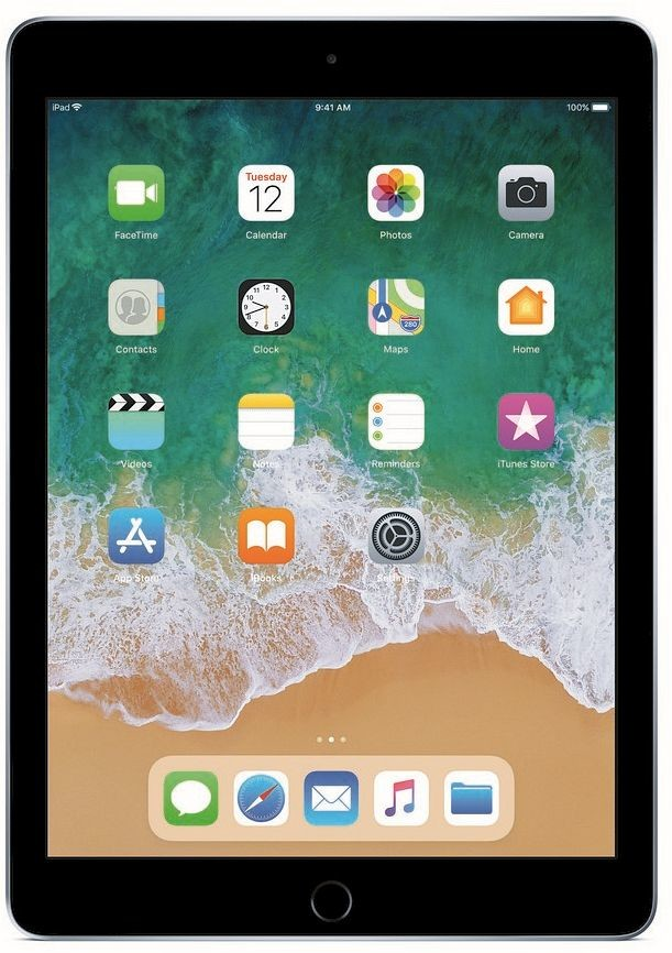 Apple iPad 9.7 (2018) Wi-Fi 32GB Space Grey MR7F2FD/A