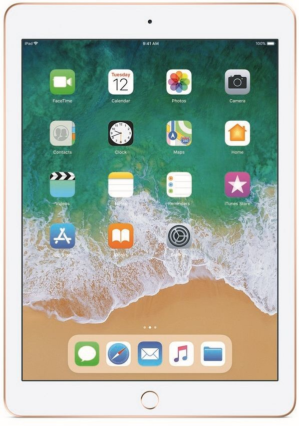 Apple iPad 9.7 (2018) Wi-Fi+Cellular 32GB Gold MRM02FD/A