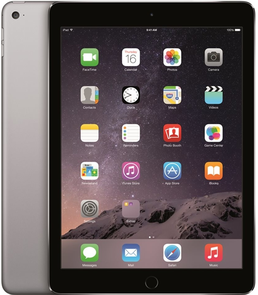 Apple iPad Air 2 Wi-Fi 128GB Space Gray MGTX2FD/A