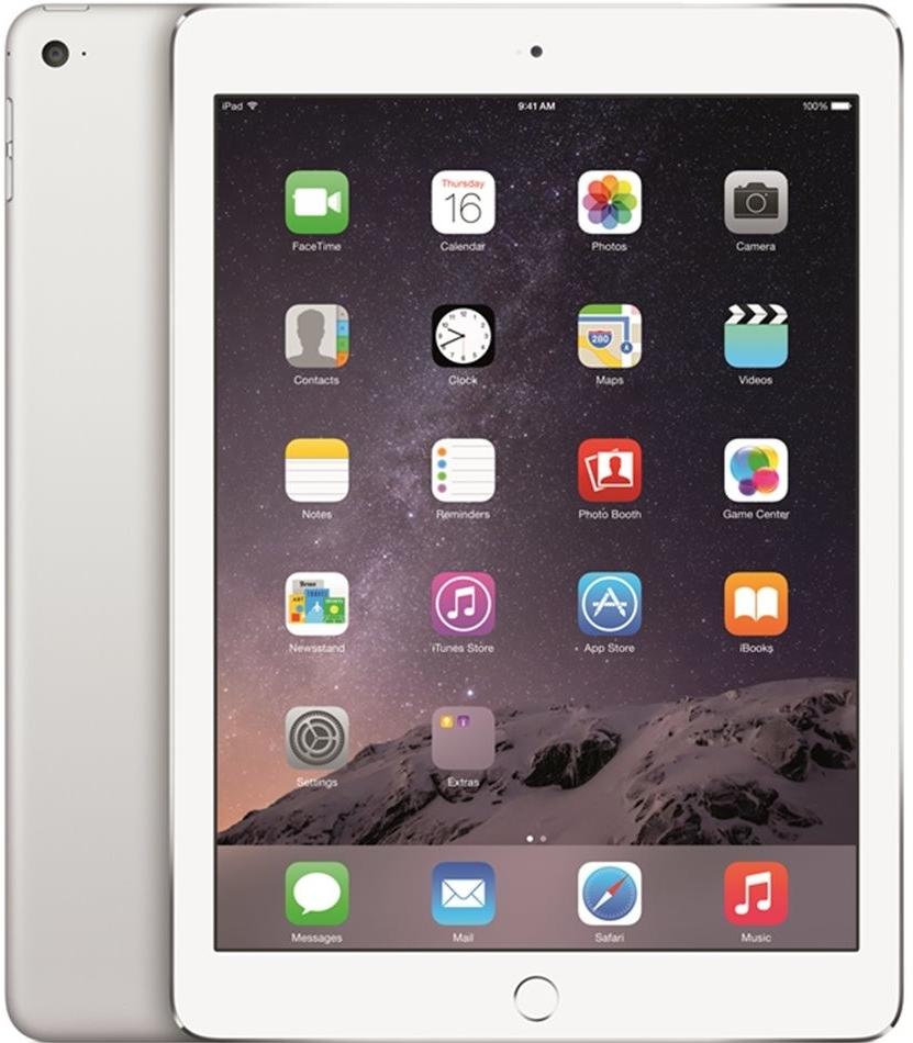 Apple iPad Air 2 Wi-Fi 64GB Silver MGKM2FD/A