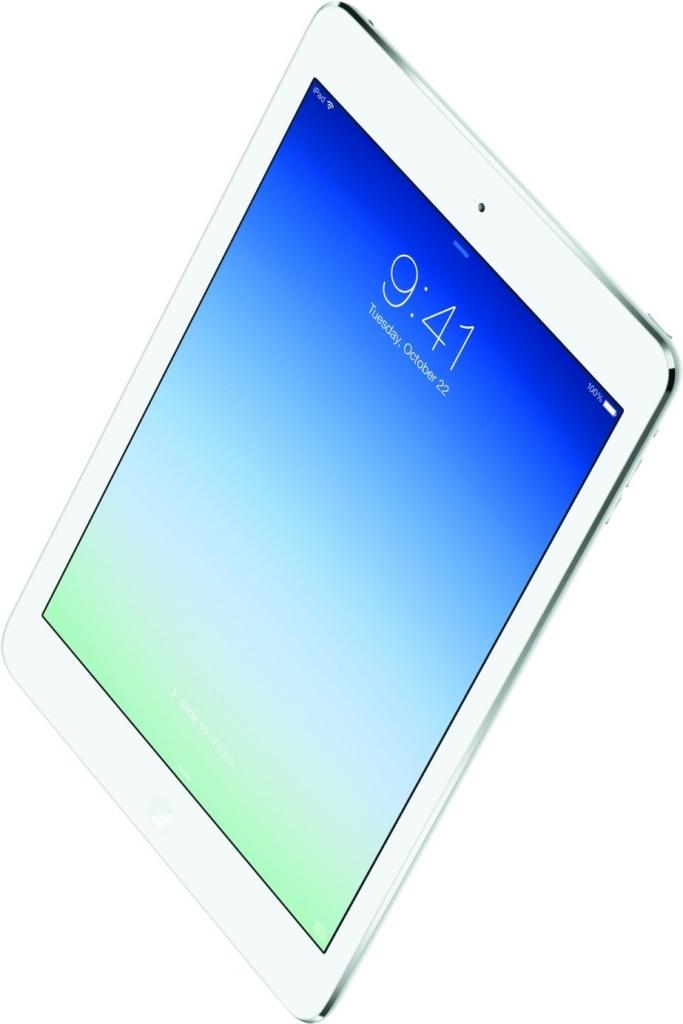 Apple iPad Air Wi-Fi 16GB Silver MD788FD/B