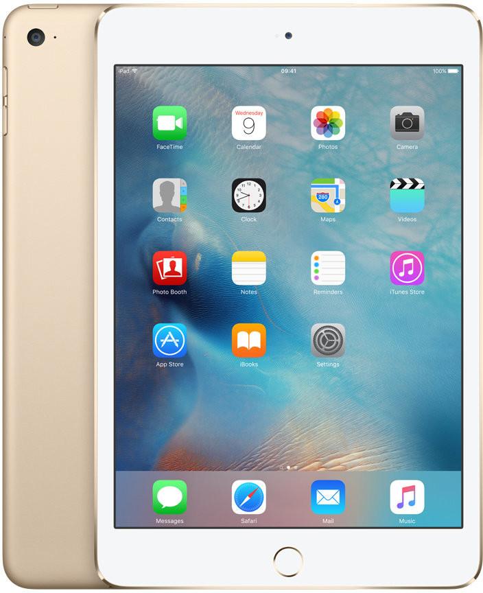 Apple iPad Mini 4 Wi-Fi 128GB Gold MK9Q2FD/A