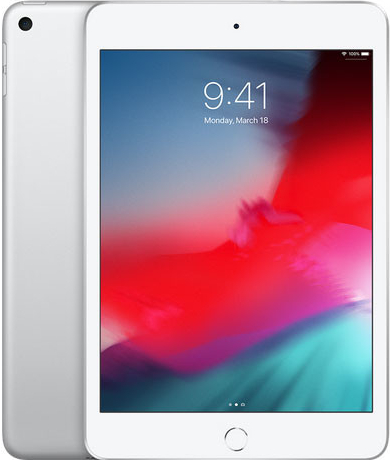 Apple iPad mini Wi-Fi 64GB Silver MUQX2FD/A