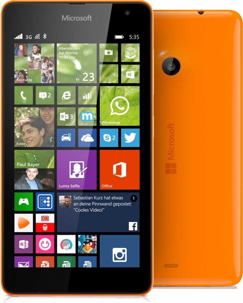 regimens microsoft lumia 535 dual sim cena features include multi-window
