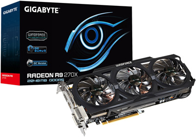 GIGABYTE R9 270X Ultra Durable VGA 2GB