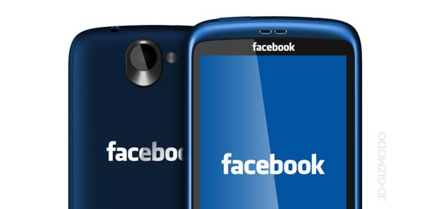 Myšlenka Facebook Phone je stále živá
