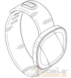 Zaoblené hodinky Samsung