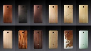 Xiaomi Mi4 - výměnné zadní kryty