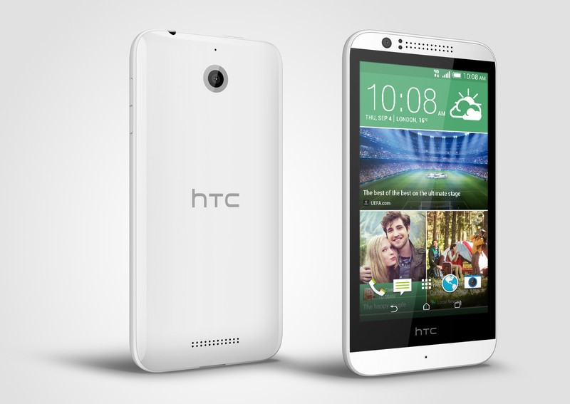 HTC Desire 510: dostupný smartphone s LTE a Sense 6