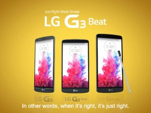 LG modely řady G3