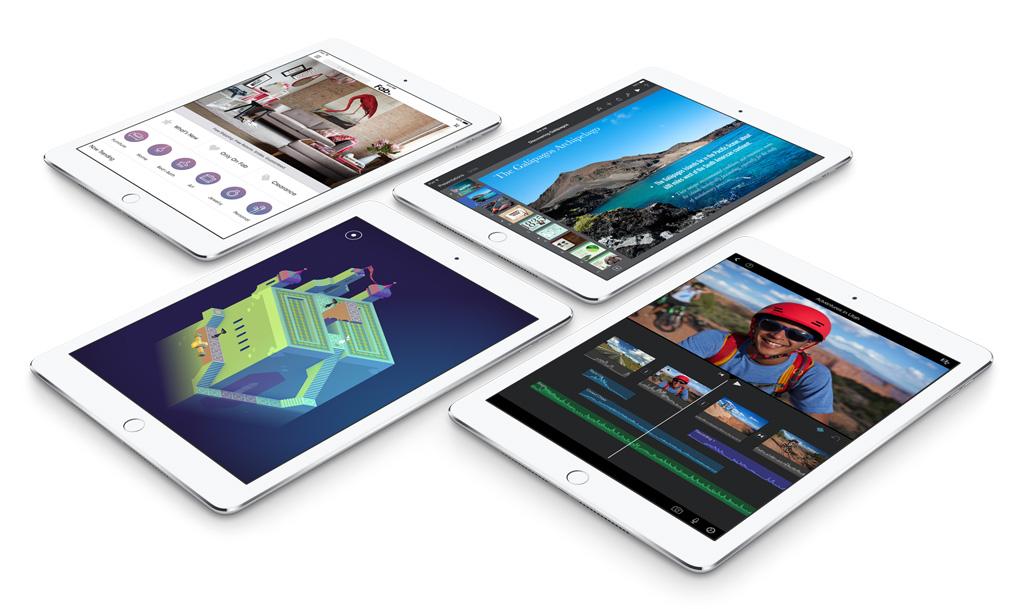 Apple představil iPad Air 2 a iPad mini 3