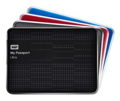 Přenosné disky WD My Passport Ultra