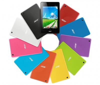 Barevné varianty tabletu Acer Iconia One 7