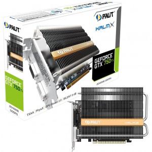 Grafická karta Palit GeForce GTX 750 TiKalmX 2GB