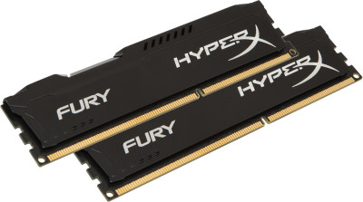 Kingston HyperX Fury Black DDR4 (2x4GB) 2133MHz