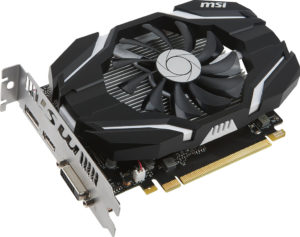 MSI GeForce GTX 1050 Ti 4G OC
