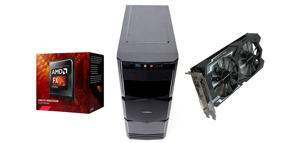 Nejlepší herní počítač za 10 000 Kč - podzim 2016