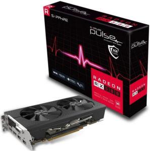 SAPPHIRE Radeon RX 580 Pulse OC 8GB DDR5
