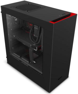 NZXT S340 černá/červená