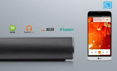 Soundbar LG SJ6