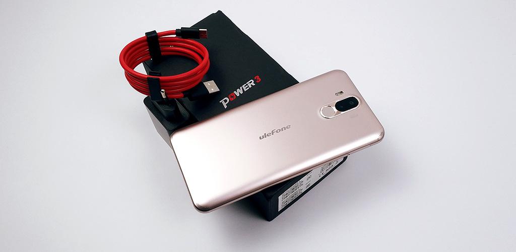 Recenze Ulefone Power 3, mobil s extrémní výdrží baterie
