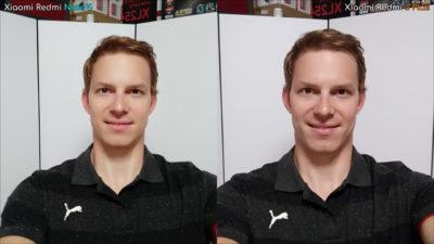 Porovnání fotoaparátů Xiaomi Redmi Note 5 a Redmi 5 Plus