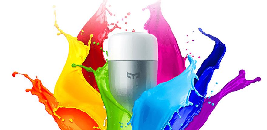 Xiaomi Yeelight barevná žárovka - chytrá, levná, kvalitní