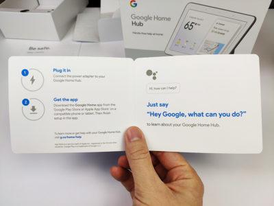 Google Nest Hub - uživatelský manuál
