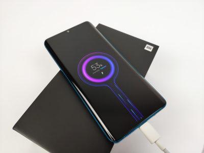 30wattové TURBO nabíjení mobilu Xiaomi Mi Note 10