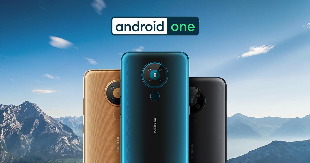 Mobilní telefony Android One - duben 2021