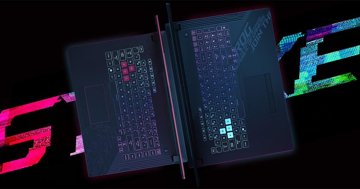 Nejlepší herní notebooky od 20 000 do 50 000 Kč - podzim 2020