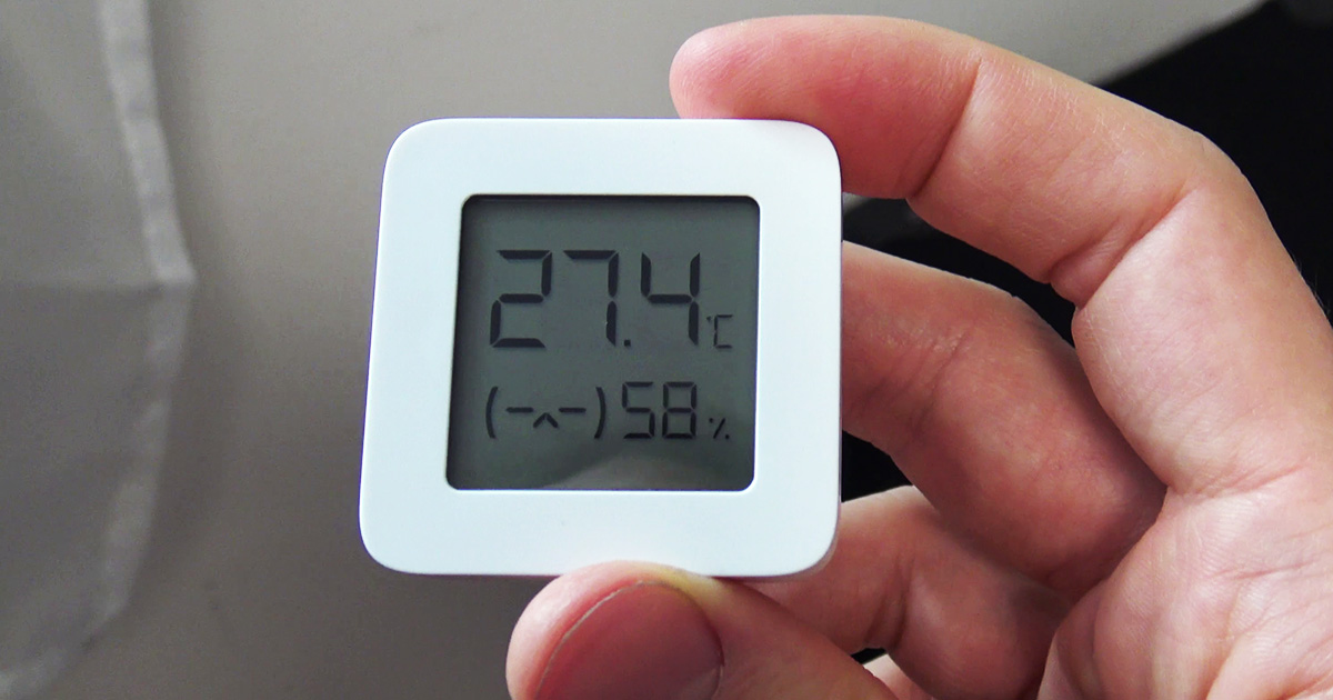 Recenze Xiaomi Mi Temperature and Humidity Monitor 2