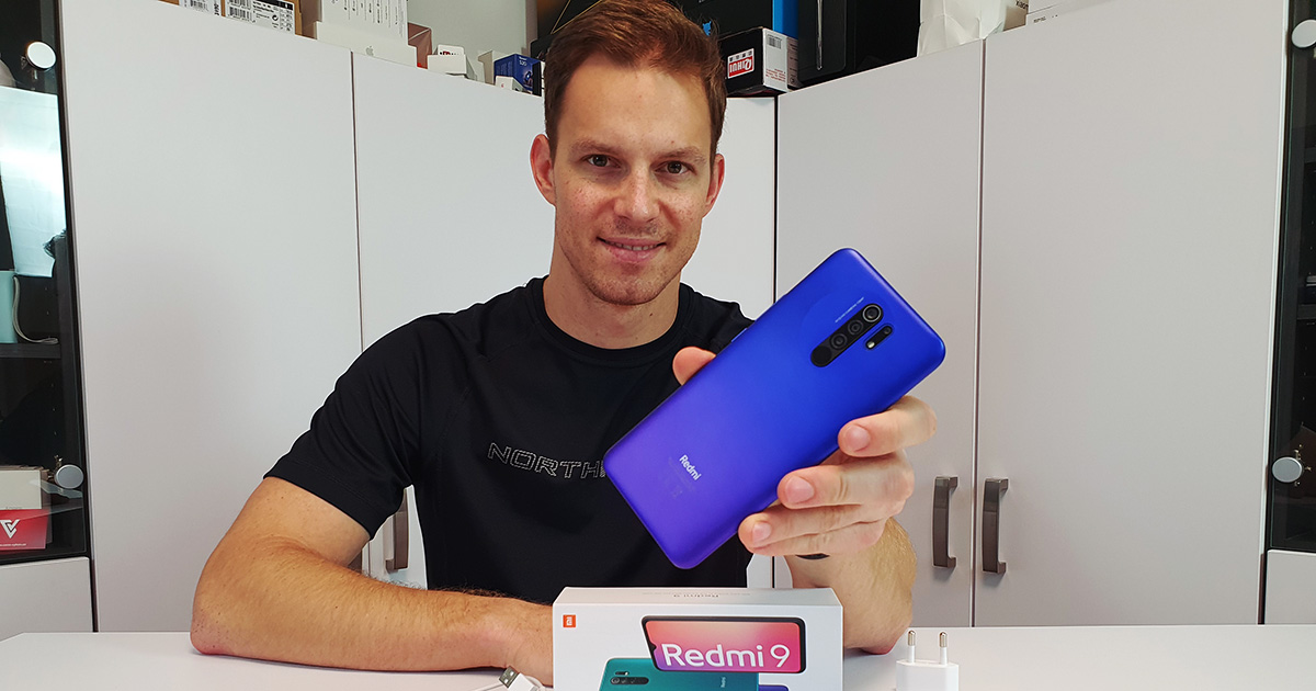 Nejlepší levný mobil? - Xiaomi Redmi 9