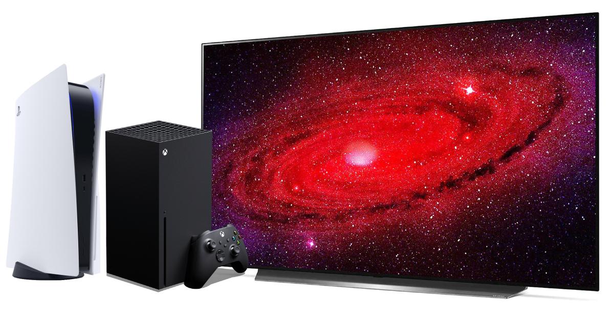 Nejlepší TV pro PS5 a Xbox Series X - zima 2020/21