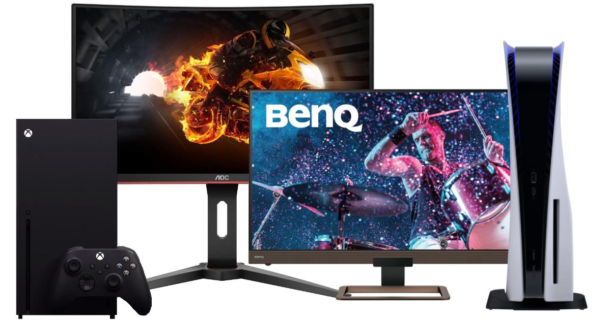 Nejlepší herní monitory pro PlayStation 5 a Xbox Series X – zima 2020/21
