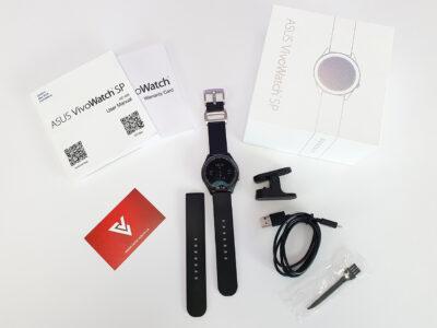Obsah balení hodinek Asus VivoWatch SP (HC-A05)