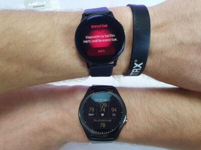 Měření krevního tlaku: Asus VivoWatch SP vs Samsung Galaxy Watch Active2