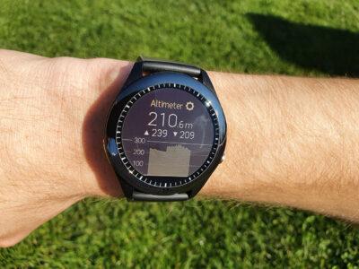 Výškoměr v hodinkách Asus VivoWatch SP