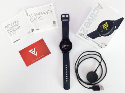 Obsah balení hodinek Samsung Galaxy Watch Active2