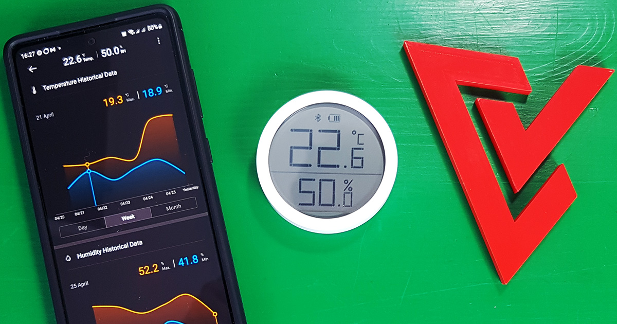 Recenze Qingping Temp & RH Monitor Lite - elegantní a chytrý teplo/vlhkoměr