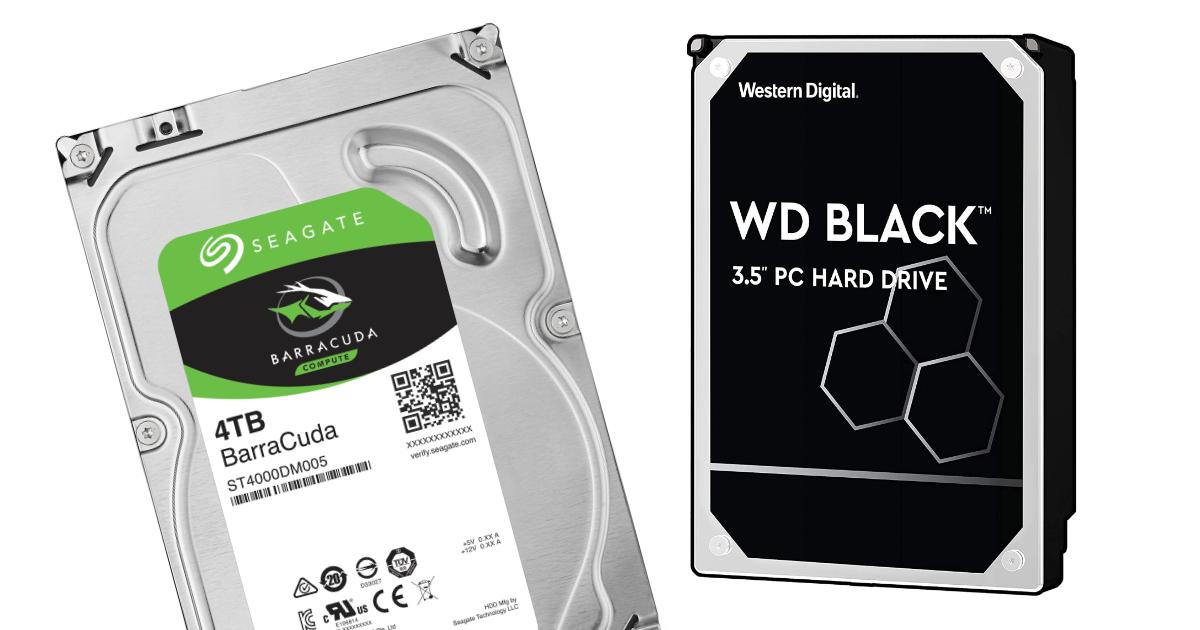 Nejlepší pevné disky (HDD) pro PC i server - 2021