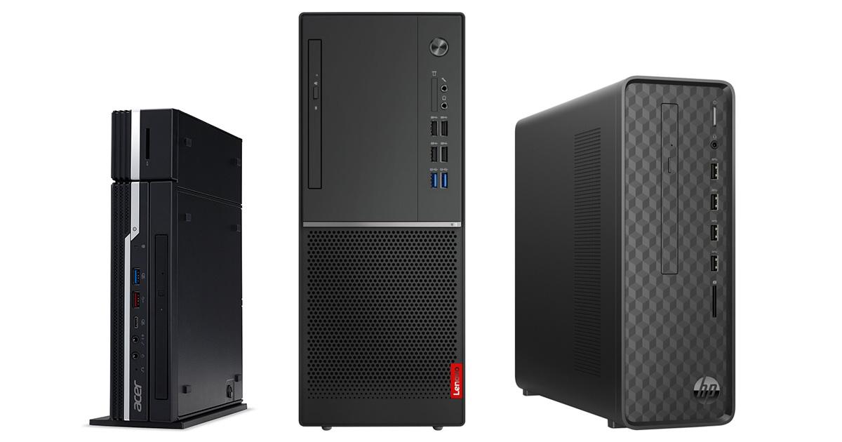 Nejlepší stolní počítače - červenec 2021
